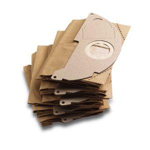 Kärcher Pappersfilterpåsar MV 2 WD 2