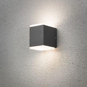 Konstsmide Monza Vägglykta 2x6W LED
